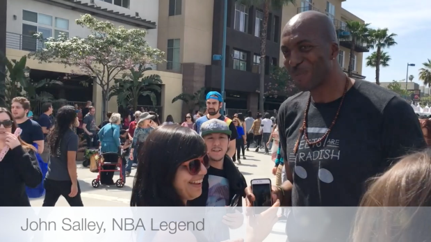 John salley, vegan, animal rights, soberveganlesbian